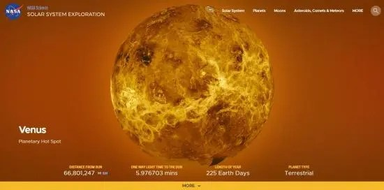 10 Planet Venus Facts: Is Venus Really Earth's Twin ...