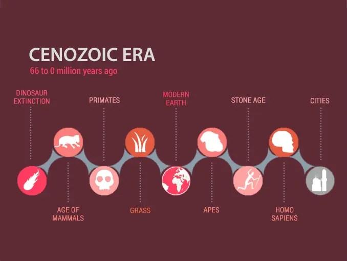 Cenozoic Era Timeline