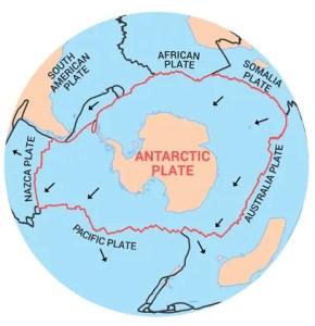 Antarctica Plate