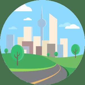 Metropolis City Tower Buildings Urban Landscape