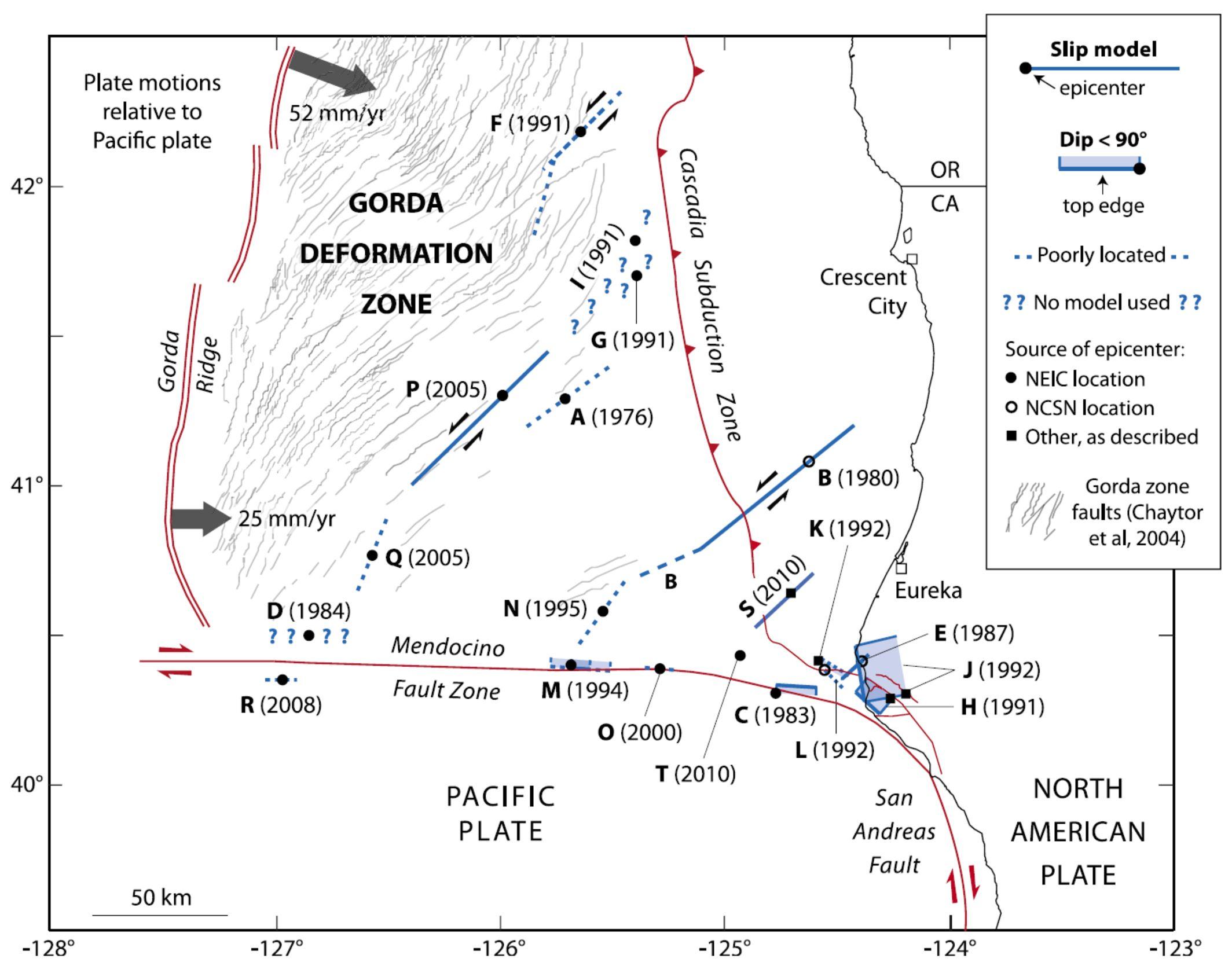 04 25 M 7 1 Petrolia The Cape Mendocino Earthquake