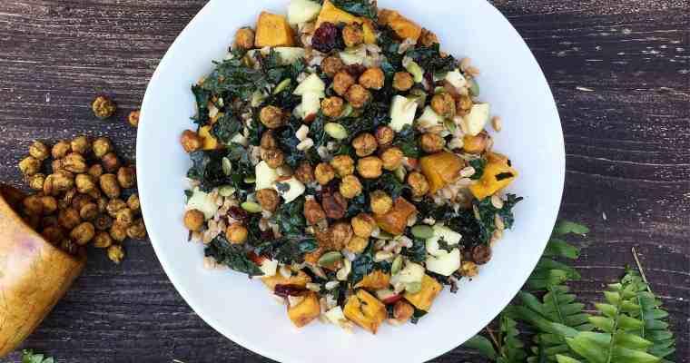 Autumnal Harvest Farro Salad