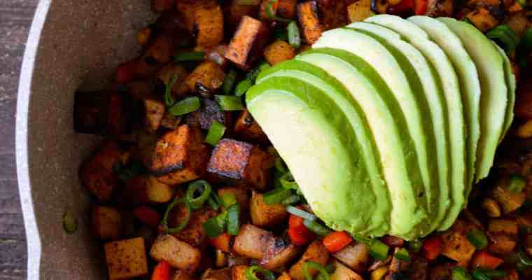 One Pan Meal:  Southwestern Potato Skillet
