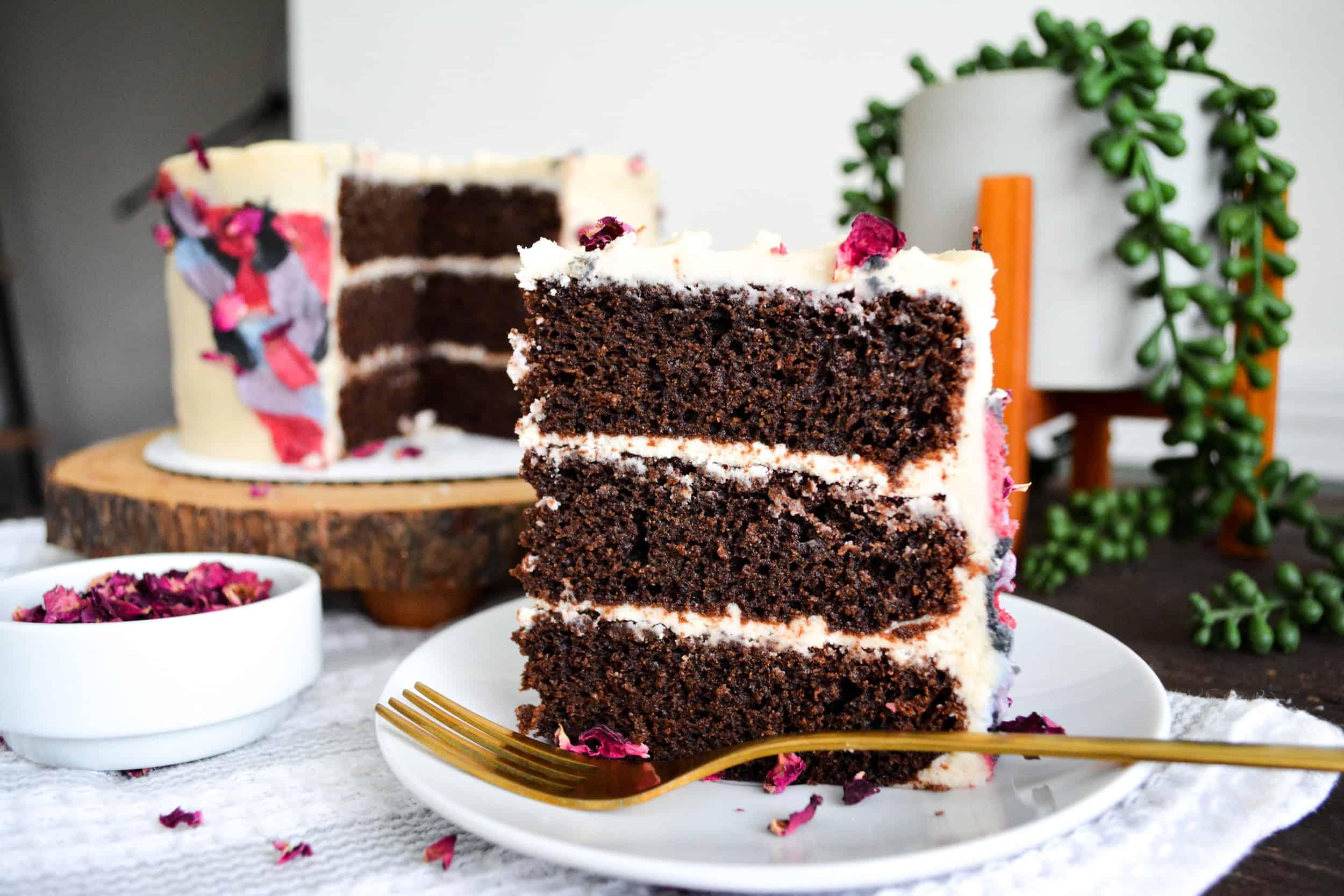 One- Bowl Gluten Free Chocolate Cake