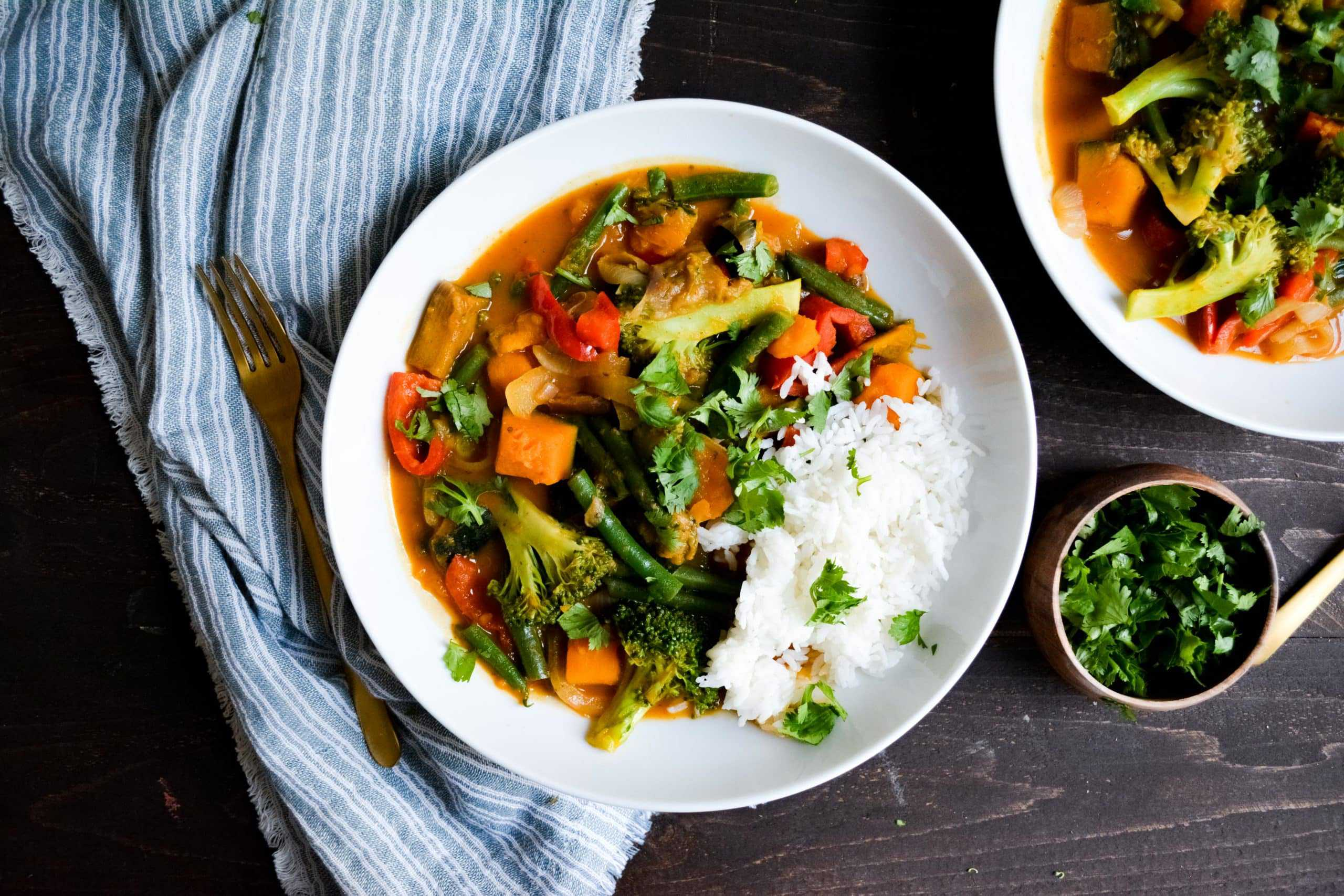 Kabocha Squash Red Curry