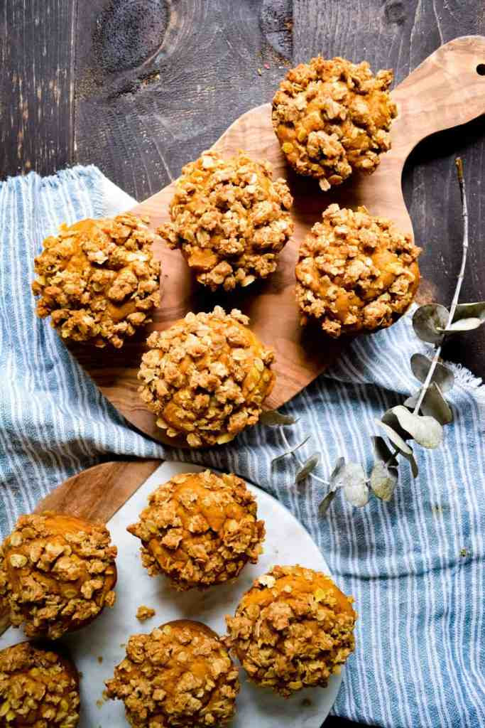 Portrait of muffins