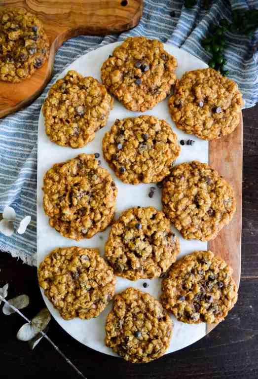 Flat Shot of Cookies