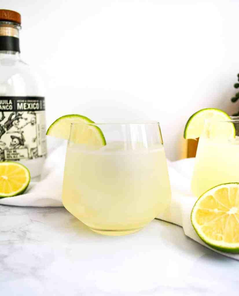 Close up of a Light + Refreshing Margaritas