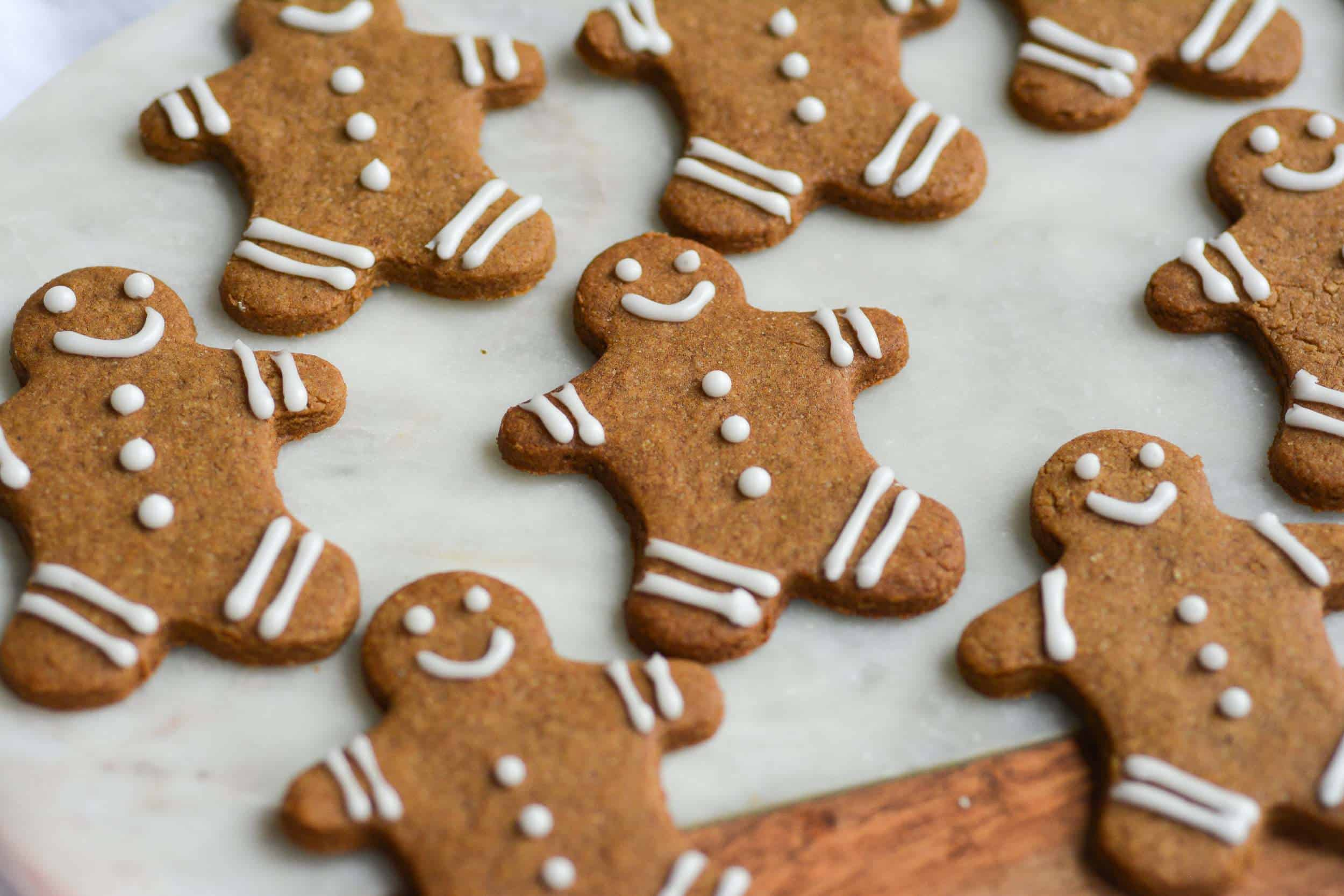 Easy Cut-Out Gingerbread Cookies