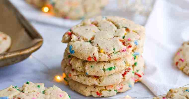 Vegan Funfetti Cookies