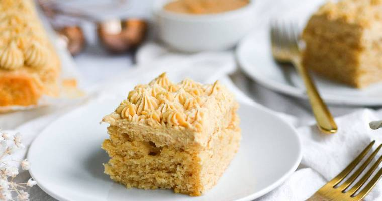Vegan Peanut Butter Cake