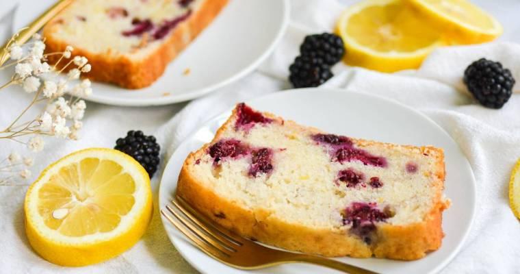 Blackberry Lemon Bread