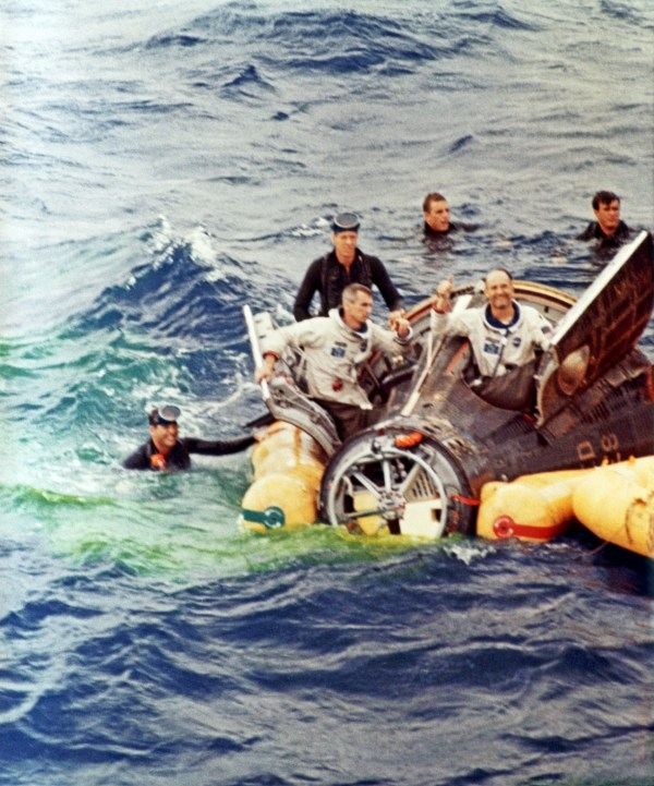 The Splashdown Rescuing Astronauts from the Command