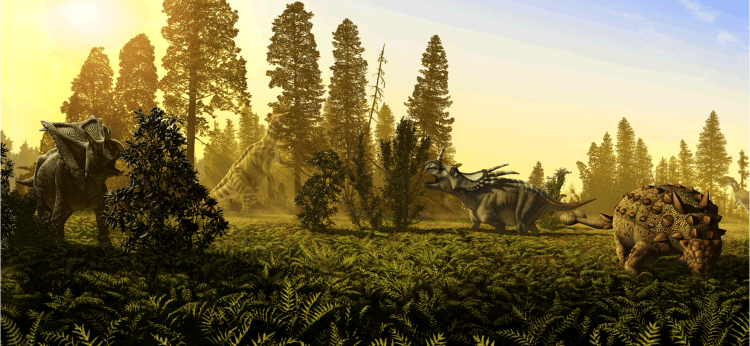 Cretaceous Wildlife