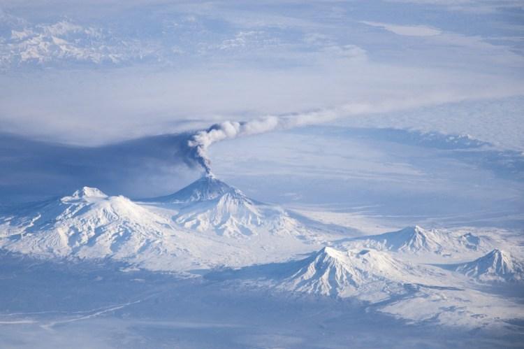 Klyuchevskaya volcano in Kamchatka
