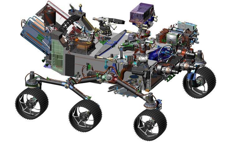 NASA's Mars 2020 Rover
