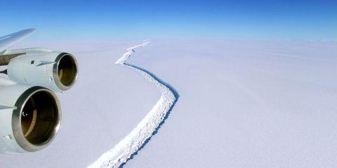 Larsen C Ice Shelf Rift
