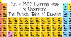 FREE Learning Ideas to Understand the Periodic Table of Elements