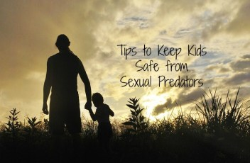 Tips to keep kids safe from sexual predators