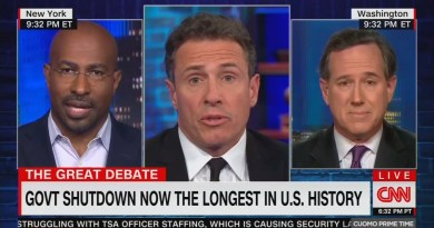 CNN's Cuomo, Jones Falsely Claim Dems Willing To Partially Fund a Wall