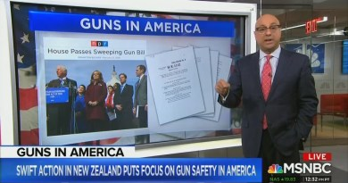 MSNBC's Velshi Pushes Gun Control in NZ Shooting Aftermath