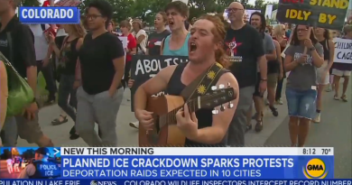 NBC, CBS Ignore Antifa Attempting to Burn Down Migrant Detention Center; ABC Barely Notices
