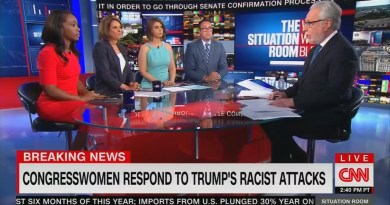 Watch CNN Panel Gush Over 'The Squad,' Bash Trump as a 'Racist'