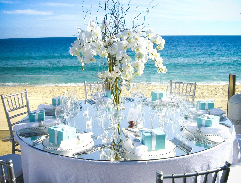 Beach Centerpieces For Wedding Reception