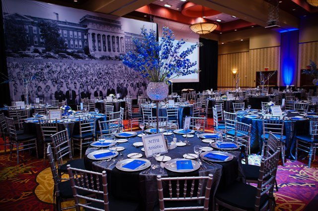 Royal Blue And Silver Wedding Decorations