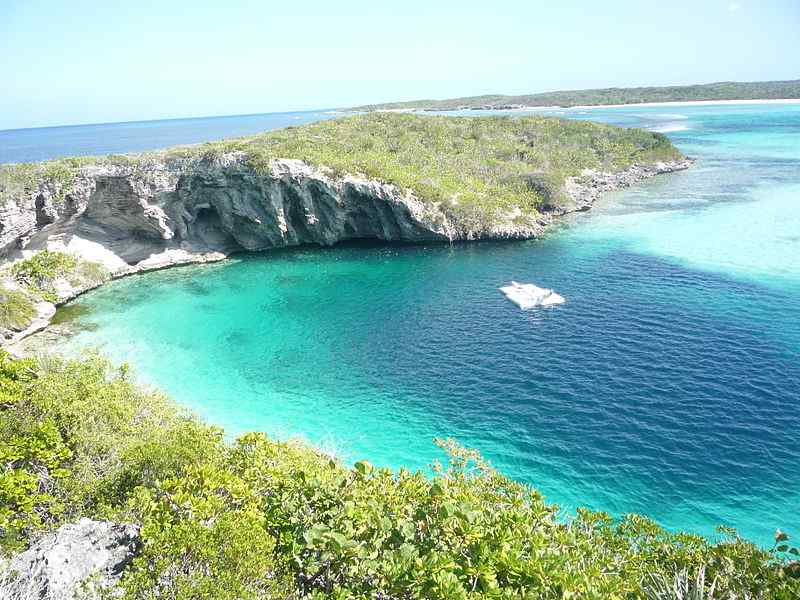 Dean's Blue Hole, the Bahamas