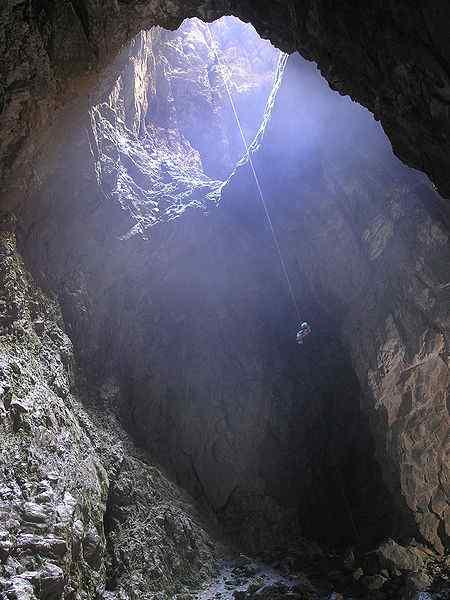 Harwood Hole, New Zealand