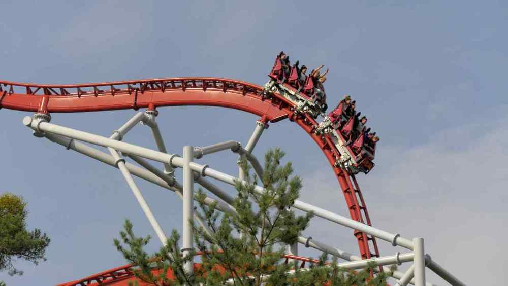 Steel Dragon 2000, Nagashima Spa Land Amusement Park, Mie Prefecture, Japan
