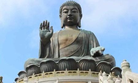 Tian Tan Buddha Statue, Hong Kong, China