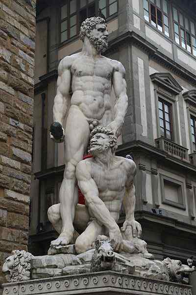 Hercules and Cacus by Bartolommeo Bandinelli