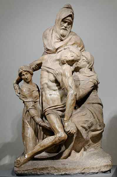 The Deposition by Michelangelo