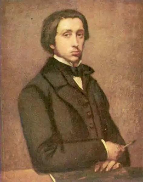 """Edgar Degas – """"Degas au porte-fusain"""