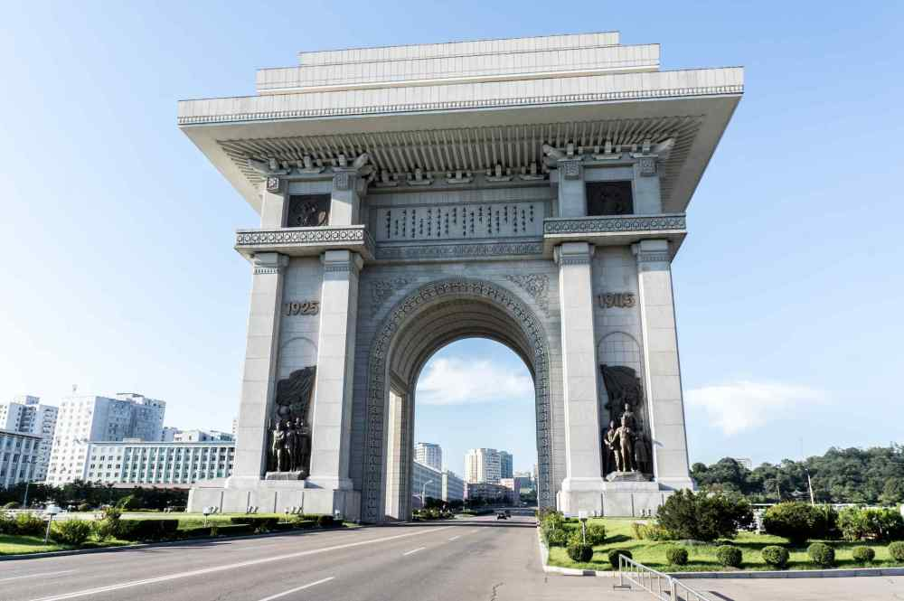 Arch of Triumph, Pyongyang, North Korea