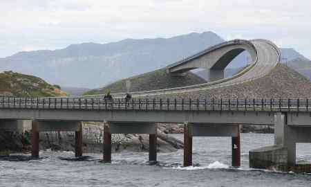 Atlantic Ocean Road or Atlanterhavsveien