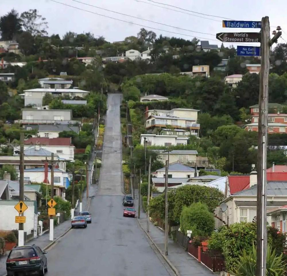 Baldwin Street, New Zealand