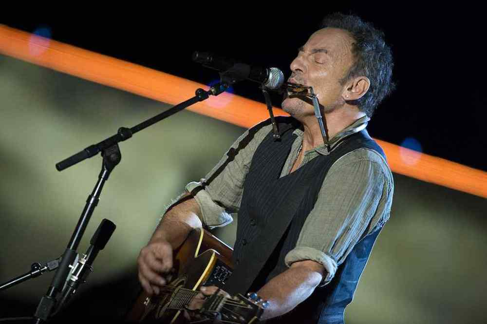 Bruce Springsteen's vocal cords