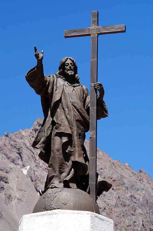 Christ the Redeemer of the Andes, Chile – Argentina border