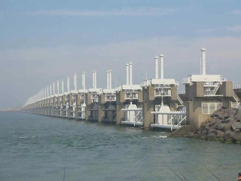 Delta Works Flood Barrier
