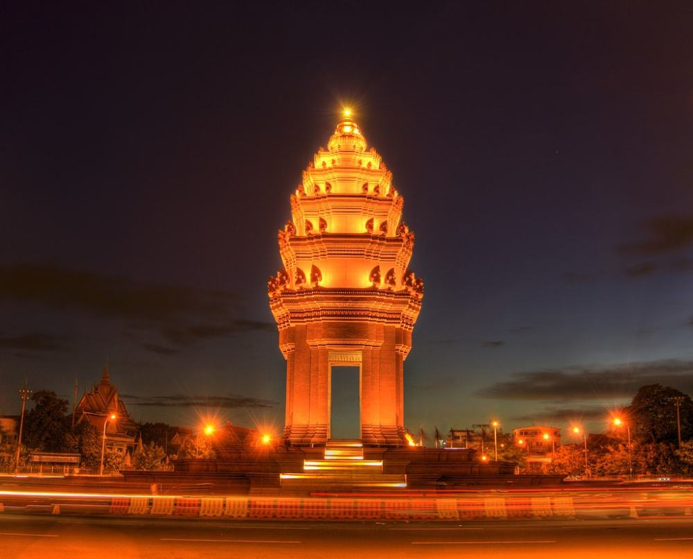 Independence Monument, Cambodia