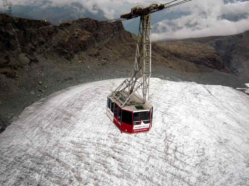 Klein Matterhorn Aerial Lift, Switzerland