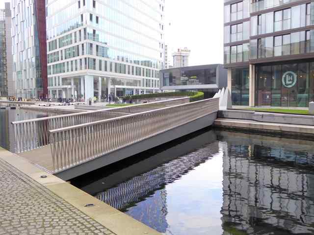 Merchant Square Bridge, Paddington, London