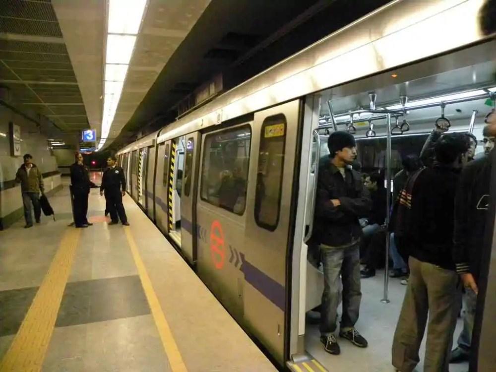 New Delhi Metro System, India
