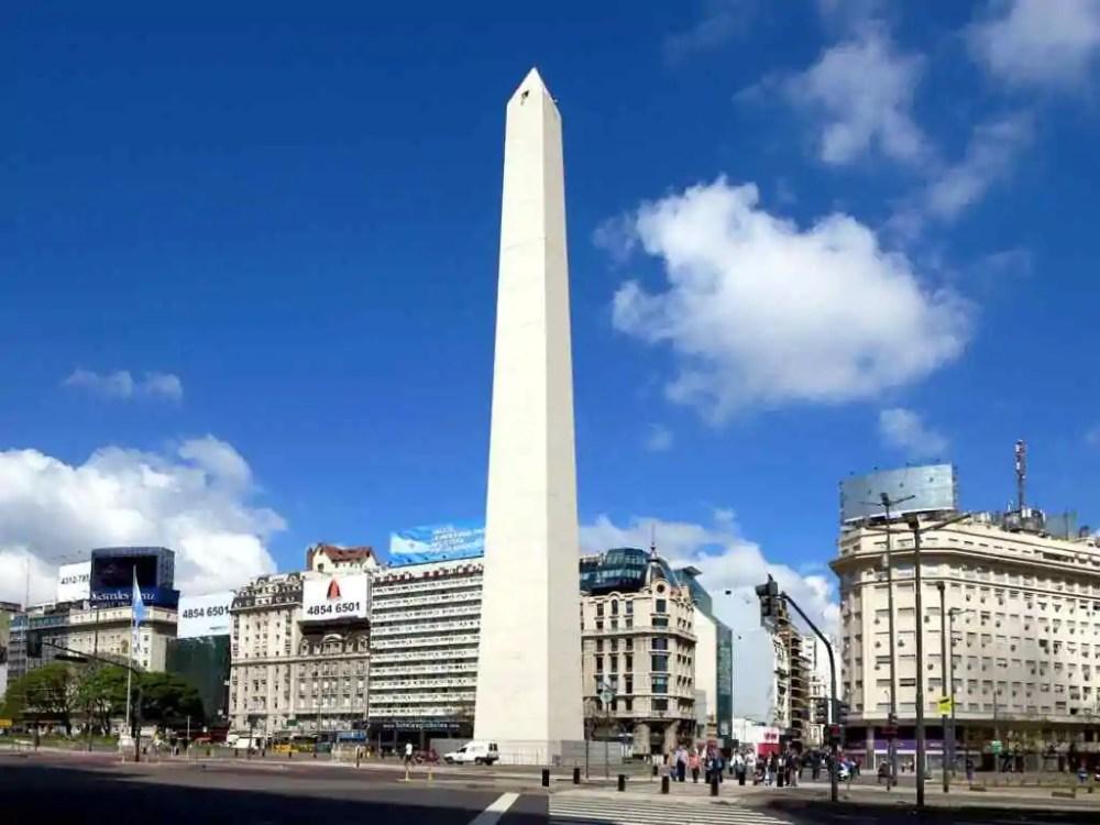 Obelisco de Buenos Aires, Buenos Aires, Argentina