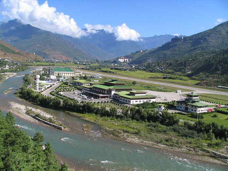 Paro International Airport, Bhutan