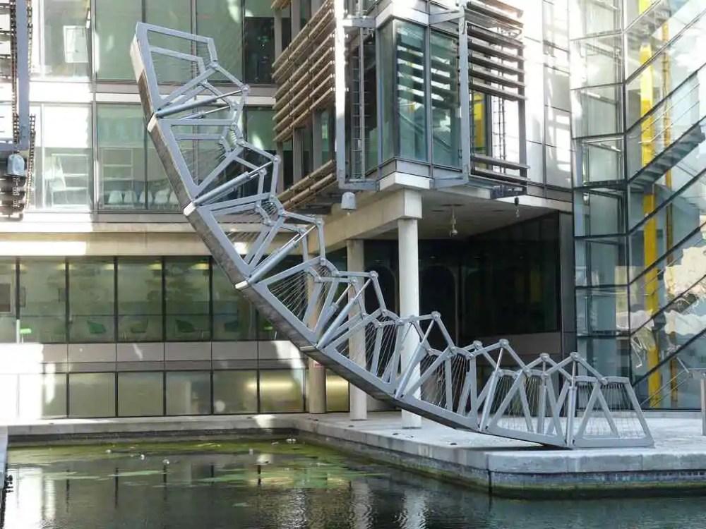 The Rolling Bridge, London