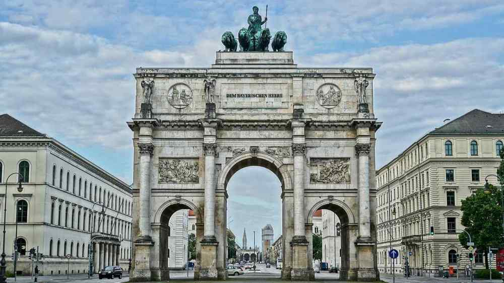 Victory Gate, Munich, Germany
